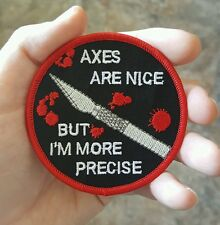 X acto Blade Embroidered Patch xacto moral sew on #11 diy merit badge horror