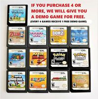 SUPER MARIO POKEMON ZELDA GAME for Nintendo DS (COMPATIBLE WITH 3DS 2DS DSI)