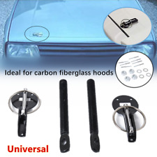 Refit Universal Alloy Mount Bonnet Hood Pin Pins Lock Latch Kit Racing Sport Car