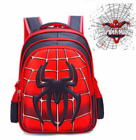 US Spider-Man Homecoming School Bag Backpack Bag For Boys Kids Children Gift