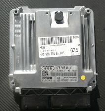 Motorsteuergerät Audi A6 4F 4F1910401B 4F0907401C 2,7 TDI BPP