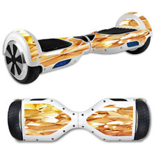 Skin Decal for Hoverboard Balance Board Scooter / Geometric Gold
