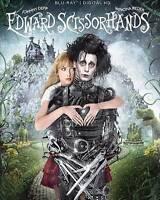 Edward Scissorhands (Blu-ray Disc, 2015, 25th Annivesary Edition) FAST SHIPPING