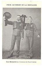 CPA 29 - PONT L'ABBE (Finistère) - Les KERNEVEL en costume de Pont-l'Abbé