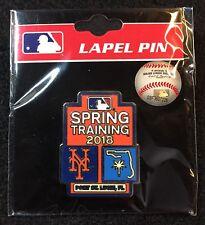 New York Mets 2018 MLB Spring Training Lapel Pin Port St. Lucie, FL