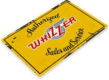 TIN SIGN Whizzer Sales Service Metal Décor Parts Auto Shop Garage Store A681