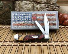 Case XX USA Fantastic DANTES INFERNO Stainless Steel Peanut AAA+++ Pocket Knife