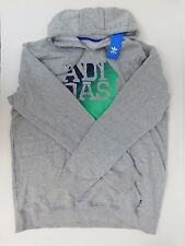 NEW MEN'S ADIDAS ORIGINALS CAP SPLIT HOODIE SIZE US XL  M31469