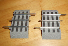 (2) LIONEL 6-12026 FASTRACK 1.75 INCH STRAIGHT TRACK train fast 3 rail TWO PACK