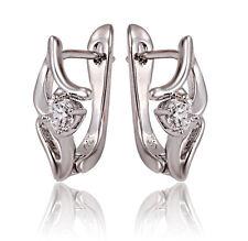 Ohrringe Creolen Klappcreolen Scharniercreolen Silber plattiert NEU Geschenk Neu