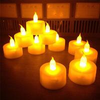 6pcs Flameless LED Tealight Flickering Tea Light Candles Wedding Christmas Decor
