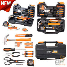 Household Tools Kit Handyman Tool Set Home Repair Toolbox 39 Piece Storage Case