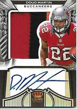 DOUG MARTIN 2012 Panini Crown Royale 3 Color Patch AUTOGRAPH 95/149