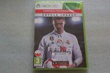 GRA XBOX 360 FIFA 18 PL POLSKA NOWA POLISH NEW EDYCJA LEGACY