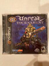 Unreal Tournament (Sega Dreamcast, 2001) - CIB / Complete In Box