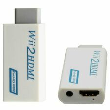New listing Wii to Hdmi Wii 2 Hdmi Full Hd Fhd 1080P Converter Adapter 3.5mm Audio Output Tv