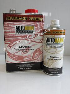 AC-9016 UNIVERSAL URETHANE AUTOMOTIVE CLEAR COAT  AUTO RESTORATION PAINT KIT
