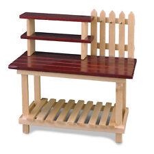 Reutter Porzellan Gartenarbeitstisch leer Garden Working Table Puppenstube 1:12