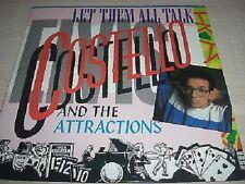 """Elvis Costello-Lasciali TUTTO CHIACCHERE 7"""" VINILE PS"""