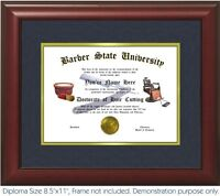 Barber Diploma - Personalized with your Name/Date- Best on eBay. Barber Chair