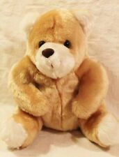 Small Teddy Bear Stuffed Animal Easter Basket Toy