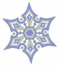 Exotic Snowflakes #2 Machine Embroidery Designs 4x4 CD