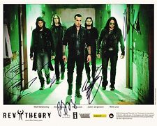 Rev Theory Autographed 8x10 Photo  Signed by The Whole Group