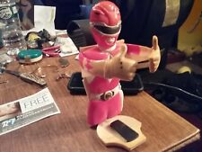 Rare Vintage RED Power Ranger  HOLDER? By HEI Mighty Morphin Power Rangers AS IS