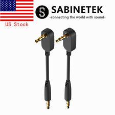 Sabinetek Audio Cable 3.5mm Aux Cable Male to Male Extension Cable 3-pole 4-pole