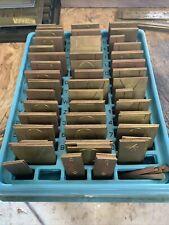 New Hermes Brass Engraving Master Font 35 023 Old No 200