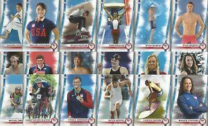 2020 TOPPS TEAM USA OLYMPIC & PARALYMPIC 76 CARD BASE SET * RAPINO * MORGAN +++