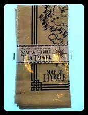 EXCLUSIVE Zelda - Mappa Di Hyrule - Set 2 Canovacci - Map Of Hyrule Tea Towels