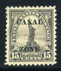 US Possessions Canal Zone Scott 78 Statue of Liberty 1924-25 Issue MOGH B717 5