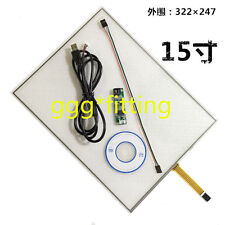 "One For 15"" 4 Wire Resistive Touch Screen Panel Kit (4:3) 15"" LCD TFT Monitor"