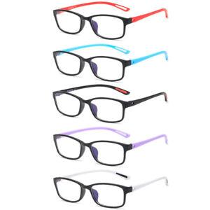 Mens Womens TR90 Reading Glasses Blue Light Blocking Reader Glasses 0 ~ 4.0 B