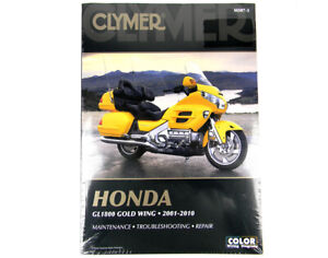 Service Repair Manual for GL1800 1st Gen (700507) By Clymer