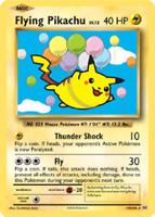 Pokemon Flying Pikachu Secret Rare Card