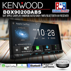 "Kenwood DDX9020DABS 6.8"" Apple CarPlay/Android Auto/DAB+/WiFi/Bluetooth Receiver"