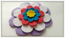 Mixed Size Flower Shapes, Floral Die Cut Craft Embellishments
