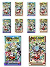 Yo-kai Watch 10 Packs: 20 x Assorted Medals U Stage 1 & 2 Yokai Youkai Jp Ver.
