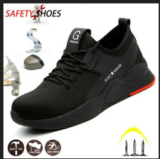 AU Mens Safety Shoes Steel Toe Lightweight Work Boots Hiking Trainers Sneakers