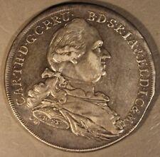 1778 HST German State Bavaria Thaler Silver Nice       ** Free U.S. Shipping **