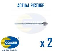 2 x NEW COMLINE FRONT TIE ROD AXLE JOINT TRACK ROD PAIR OE QUALITY CTR3008