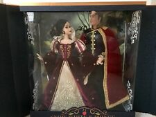 "Snow White And Prince Collectors Doll Set - 17"" - Limited Edition Platinum Set"