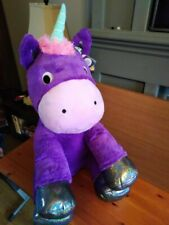 LARGE PURPLE PLUSH UNICORN SOFT TOY Brand new