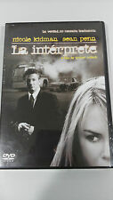 INTERPRET THE DVD + NICOLE KIDMAN EXTRAS SEAN PENN SPANISH ENGLISH RUSSIAN