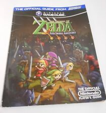 the Legend of Zelda the Four Swords Adventures strategy guide With Poster