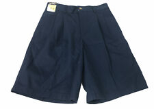 Class Club Boys Sz 12 Navy Blue Uniform Shorts Pleated Knee New Wit Tags