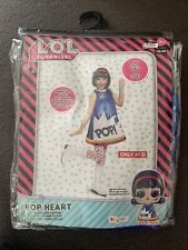 Lol Surprise! Pop Heart Deluxe Child Costume Size M(7-8)