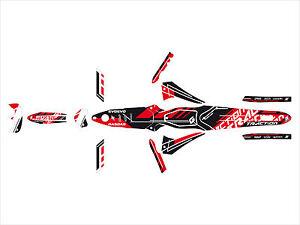 Set Grafiken Komplett Versuch Gas Txt Pro 11-20 Blackbird Traktion
